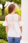 Flower Girl Top - Off White