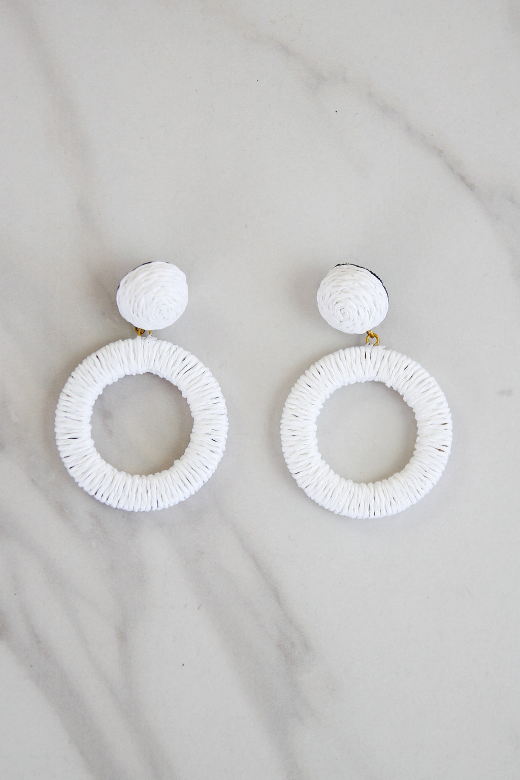 Positano Perfect Earrings - White