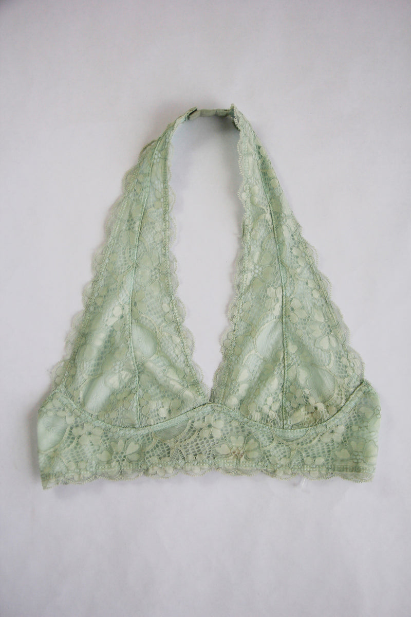 Halter Bralette - Waterlily