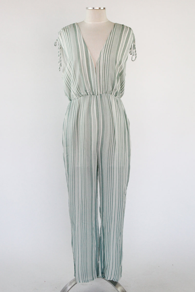 Fields of Mint Jumpsuit - Off White