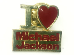 Michael Jackson Gold and Red