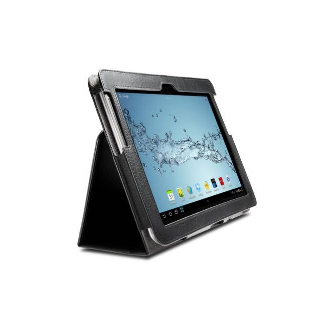 Kensington K39748WW Folio Case & Stand for Galaxy Tab 1,2 & Note (Black)