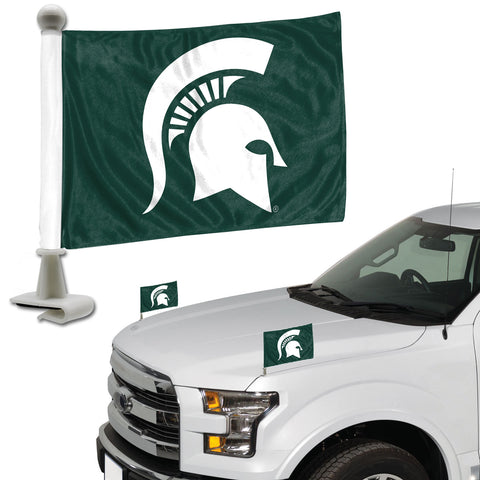Michigan State Spartans Ambassador Style 2 Piece Flag Set
