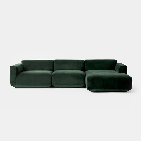 Develius Modular Sofa, Conf. F - Green - Monologue London