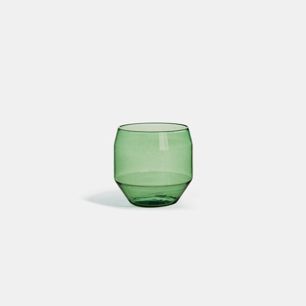 Angolo Glass, Green - Set of 2 - Monologue London