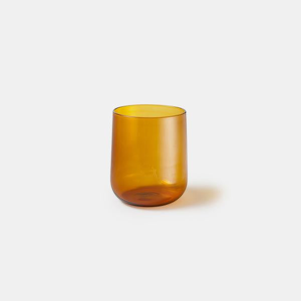 Crudo Glass Amber - Set of 4 - Monologue London