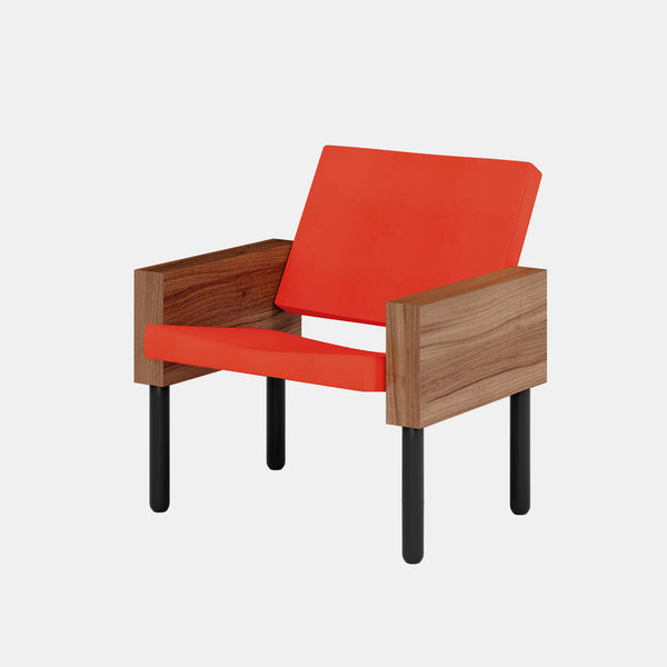 Block Chair - Red - Monologue London