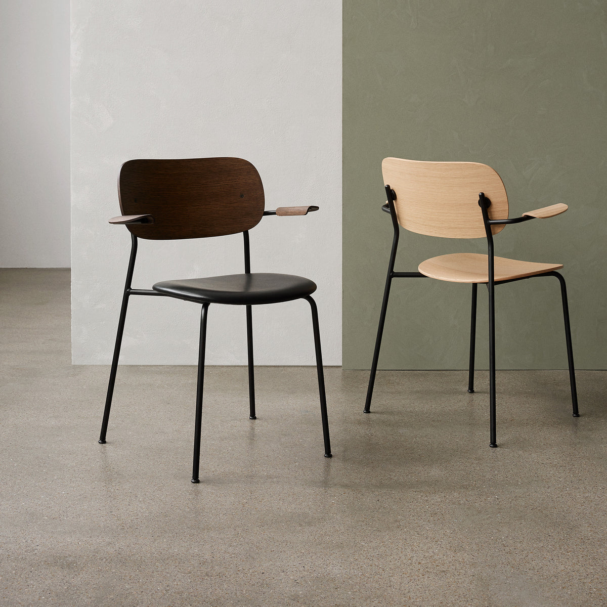 Co Chair - Leather seat - Monologue London
