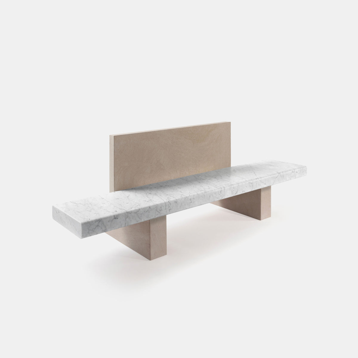 Span Outdoor Bench W/Backrest