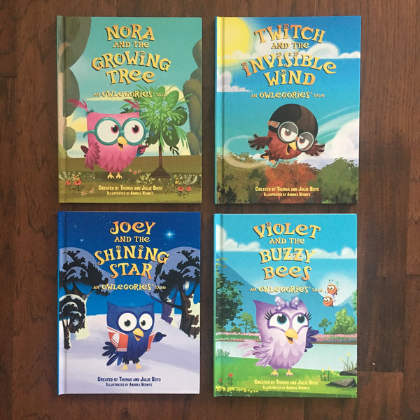 All FOUR Owlegories Books!
