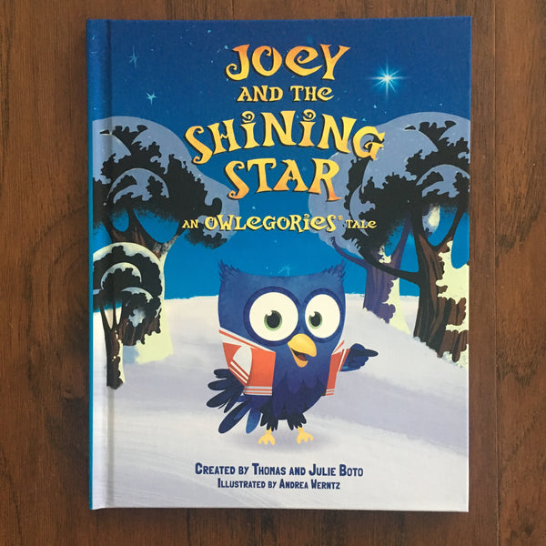 Joey and the Shining Star (Owlegories Storybook)