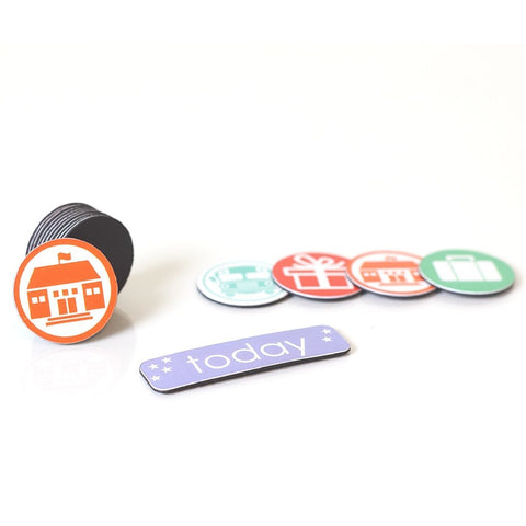 """My Lil' Schedule"" Activity Accessory Pack - Enlightened Littles, Inc.  - 1"
