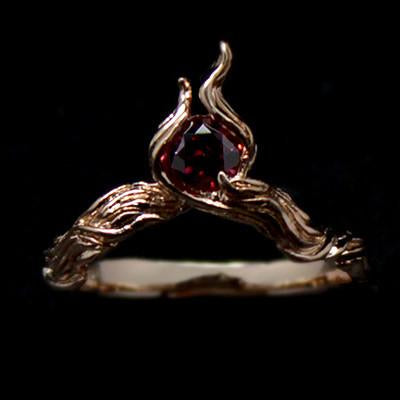 Fire Element Ring | ZIGN - ELEMENT