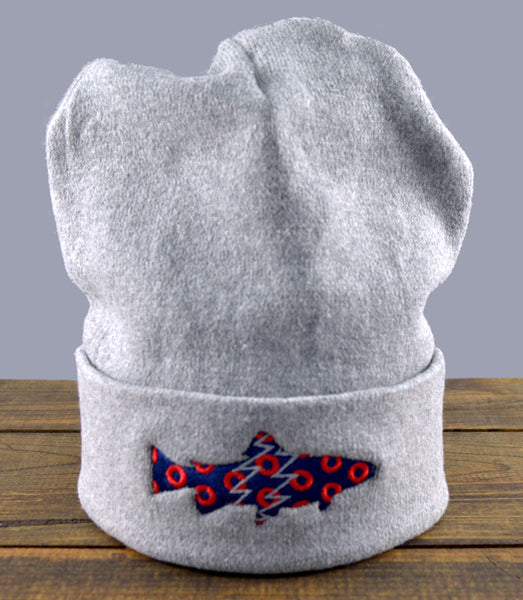 Pesca x Recover Donuts Trout Recycled Knit Beanie