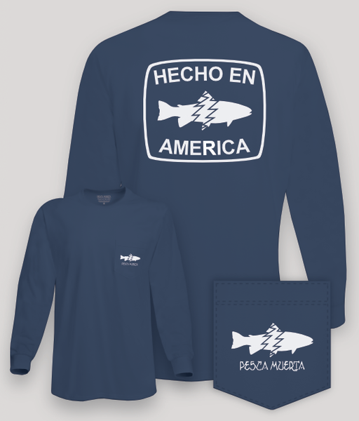 Long Sleeve Pocket T-Shirt - Hecho En America
