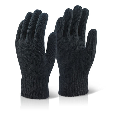 Click 2000 Black Acrylic Gloves