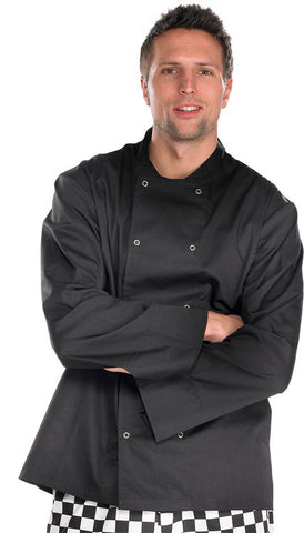 Double Breasted Chef's Jacket Long Sleeves  - 1