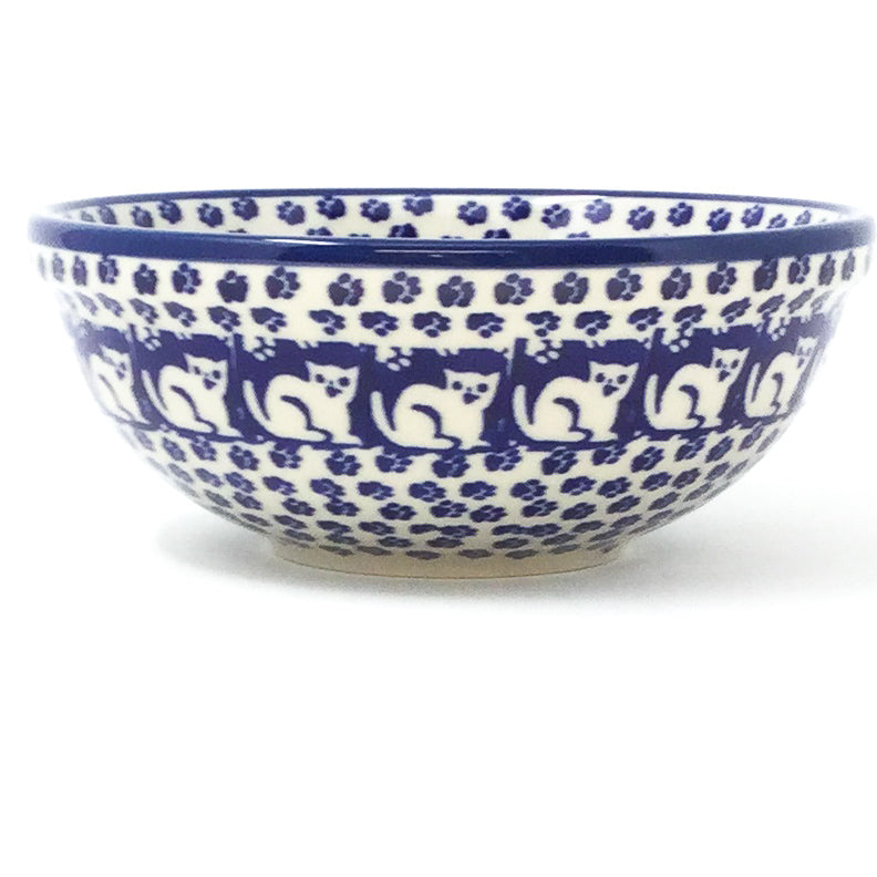 Dessert Bowl 16 oz in Blue Cats