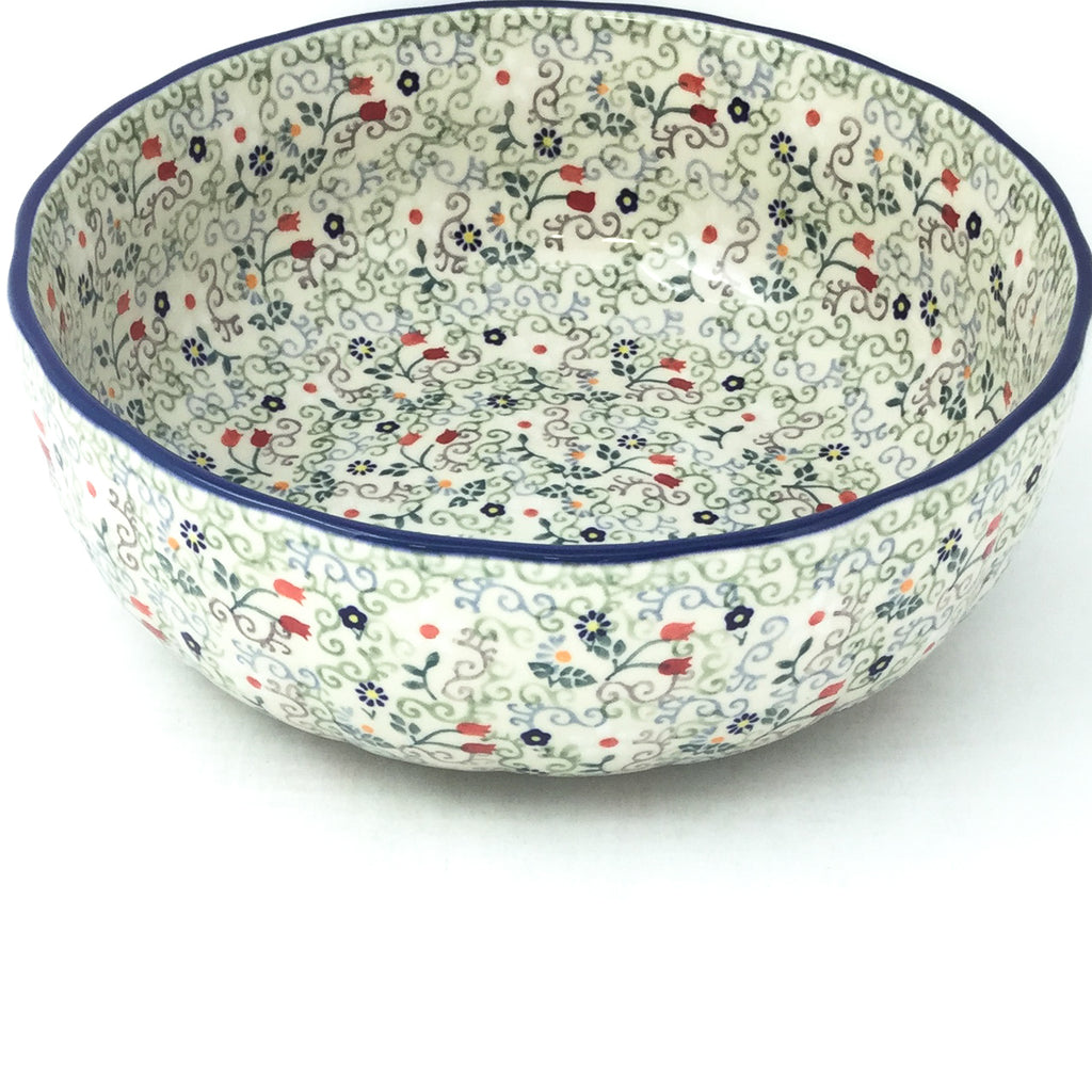 Family Shallow Bowl in Early Spring