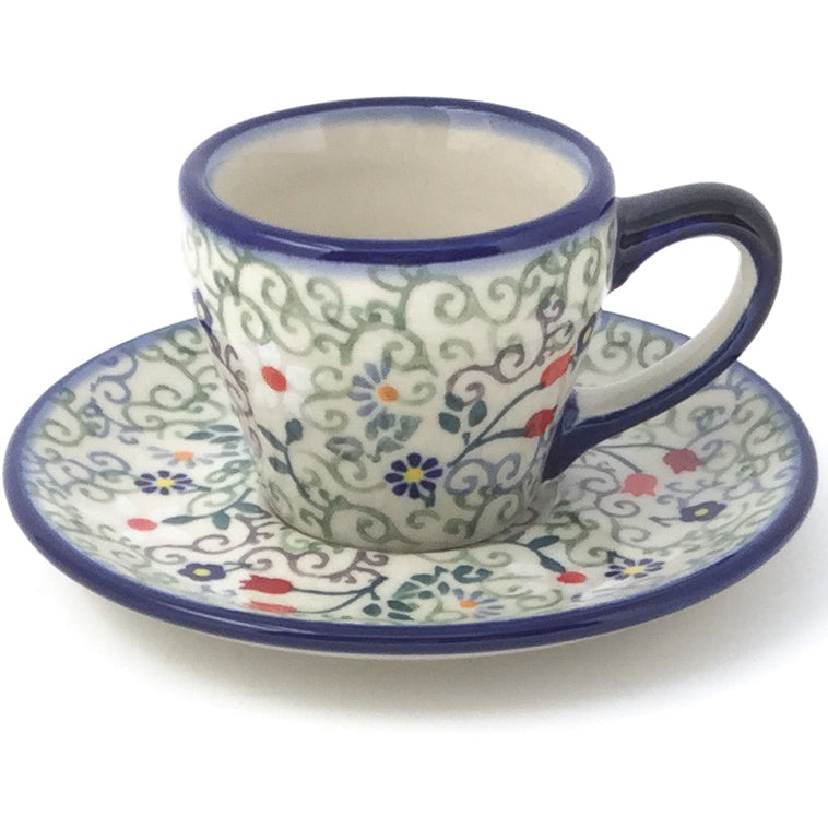 Espresso Cup w/Saucer 2 oz in Early Spring