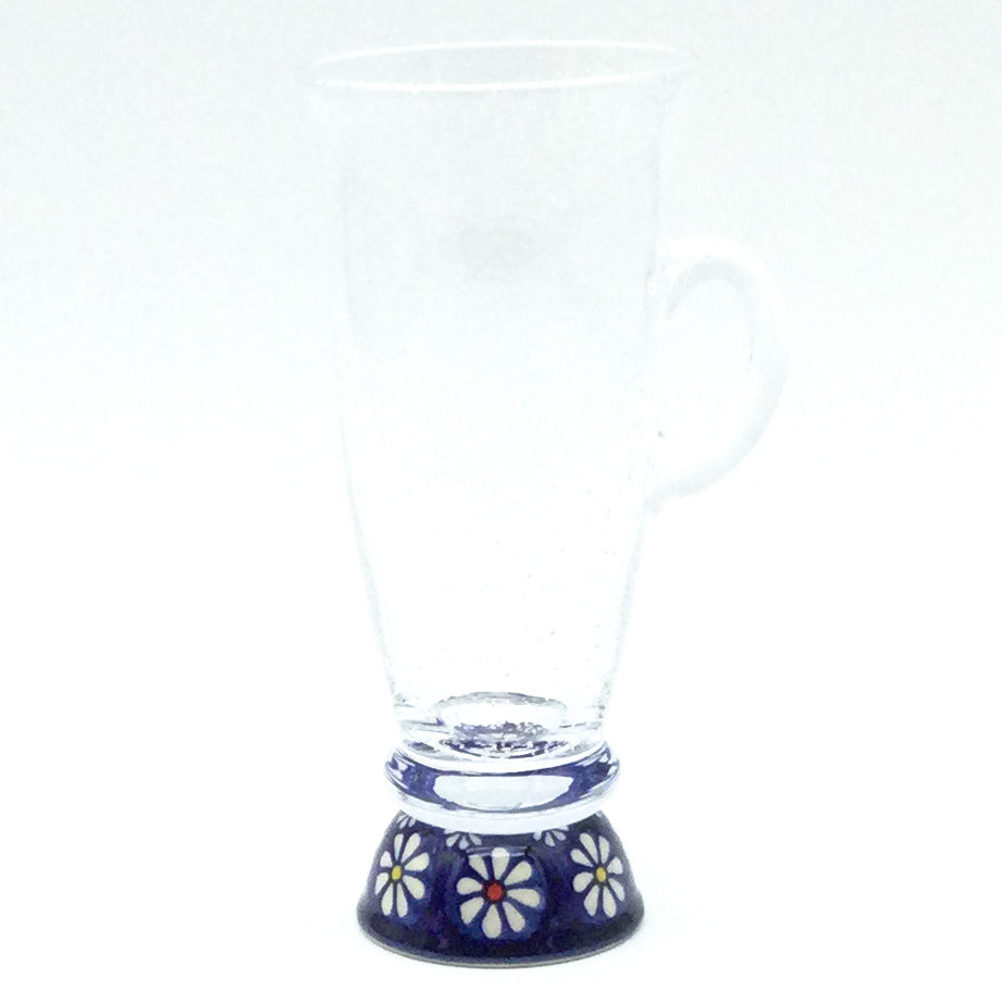 Square Cup 8 oz in Blue Butterfly