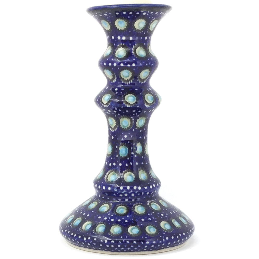 Tall Candle Holder in Blue Moon
