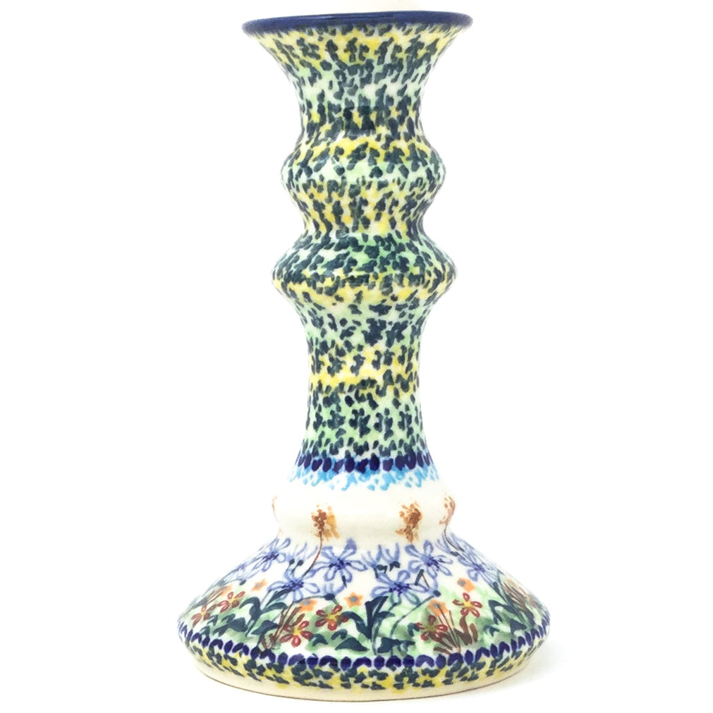 Tall Candle Holder in Country Spring
