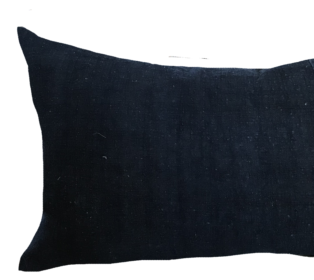 Found African Indigo Pillow