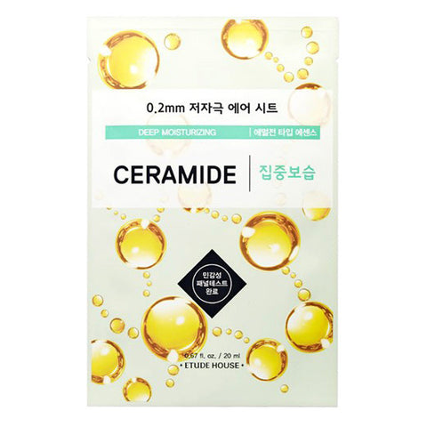 0.2 Air Therapy - Ceramide - Deep Moisturizing, Etude House - Mooni Mask