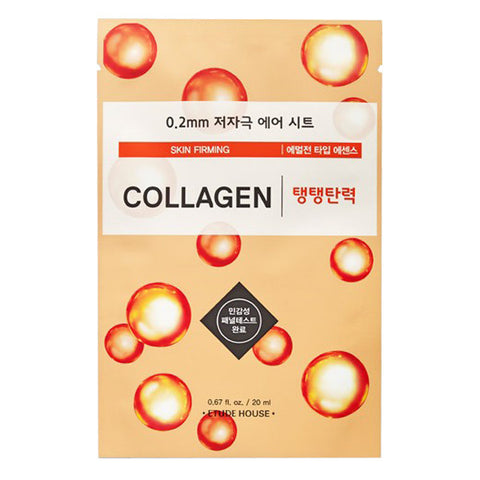 0.2 Air Therapy - Collagen - Skin Firming, Etude House - Mooni Mask