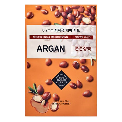 0.2 Air Therapy - Argan - Nourishing & Moisturizing, Etude House - Mooni Mask