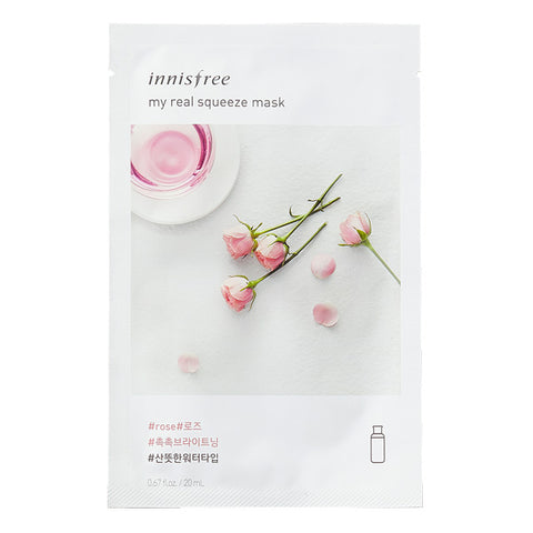 My Real Squeeze - Rose, Innisfree - Mooni Mask