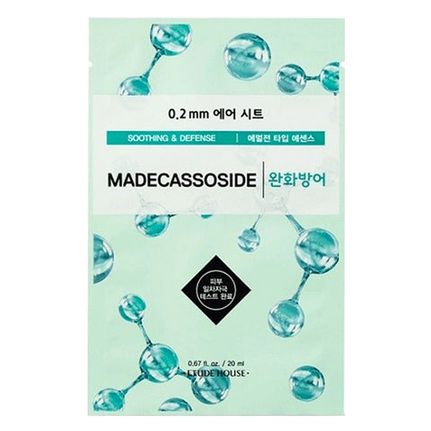 Air Therapy - Madecassoside - Soothing & Defense, Etude House - Mooni Mask
