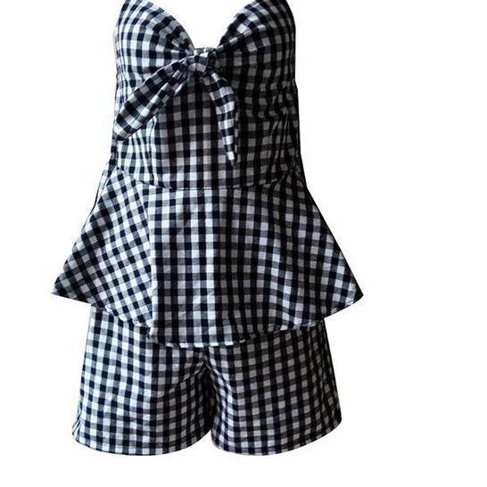 Jumpsuit Short Romper - Nostalgiastyles Clothing Store Co.