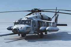 Roban SH-60 Seahawk 500 Size Helicopter Scale Conversion - KIT RBN-KFSH60SEA5