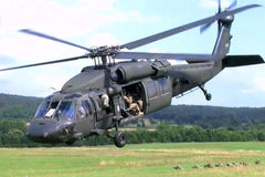 Roban UH-60 Black Hawk 500 Size Helicopter Scale Conversion - KIT RBN-KFUH60BH5