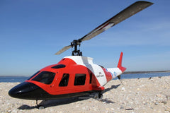 RotorScale A-109 Coast Guard Rescue 450 Size Helicopter - PNP RSH0005P