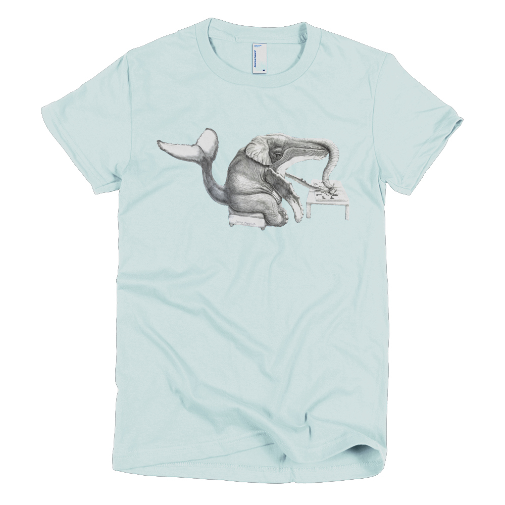 Whalephant Shirt (women's)
