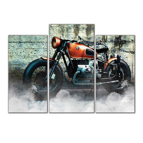 Bike - Canvas Print Stretched and Framed