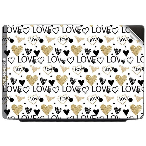 Heart and Love Doodle For ASUS X55U Skin