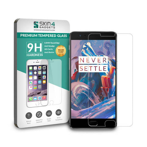 OnePlus 3 Tempered Glass Screen Protector Pack of 2