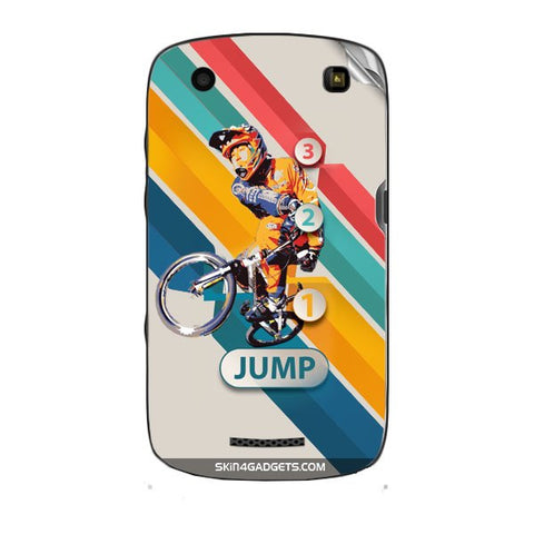 1 2 3 Jump For BLACKBERRY CURVE 9360 Skin