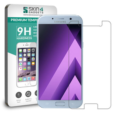 Samsung Galaxy A5 2017 tempered glass Screen protector Pack of 2