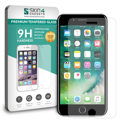 Apple iPhone 7 Plus tempered glass Screen protector Pack of 2