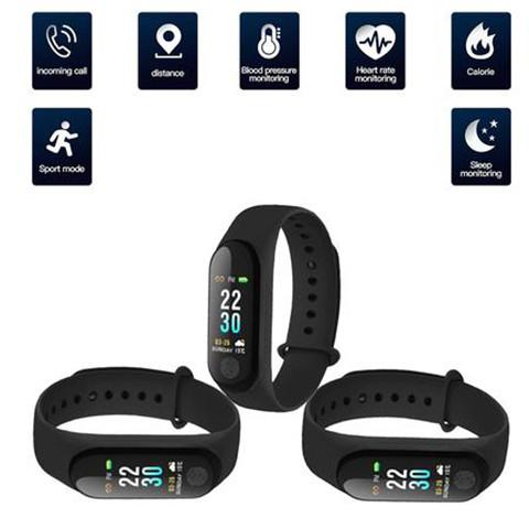 SKIN4GADGETS - (Pack of 3) M3 SMART FITNESS BAND WITH ACTIVITY TRACKER FEATURES