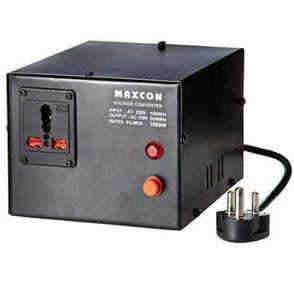 MX VOLTAGE CONVERTER - 1000 WATTS (CONVERTS 220V TO 110V) MX 1174A