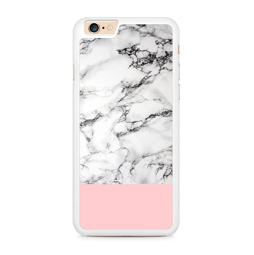 Pink Marble Combi hoesje - PhoneJunkie