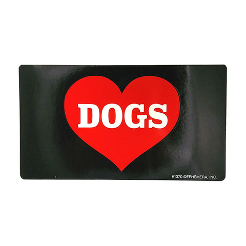 Sticker - Heart Dogs