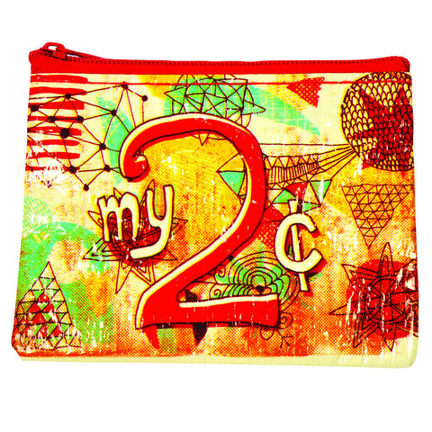 """My 2 Cents"" Coin Purse"