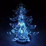 USB LED Christmas Tree when Cool Blue